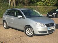 2007 Volkswagen Polo 1.4 ( 75PS ) AUTO SE 5 Door Silver only 36,435 Miles SUPERB