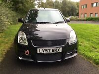 SUZUKI SWIFT SPORT VVTI 1.6 3DR INDUCTION KIT SOUDNS AWESOME VERY FAST QUICK SHIFT BOX!