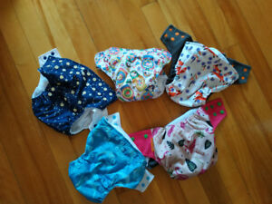 baby reusable diapers 3$/each