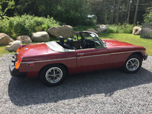 1978 MGB with working overdrive