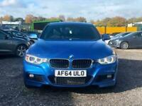 2014 64 BMW 3 SERIES 335d xDrive M Sport 4dr Step Auto 2013 - 2015