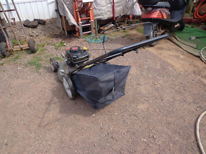 4.5hp rear bagger lawnmower in excellent condition