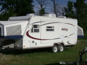 rockwood roo camping trailer