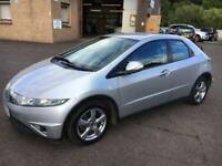 5707 Honda Civic 1.8i-VTEC SE Silver 5 Door 71710mls MOT 12m