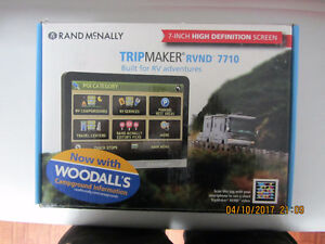 GPS RVND RAND MCNALLY 7710 RV 7po