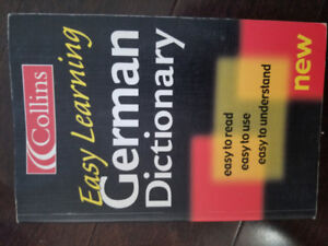 Collins -Easy Learning German Dictionary