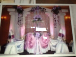 7-piece wedding/event backdrop (10' height) - FOR SALE