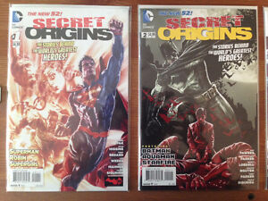 Secret Origins 1-11 New 52 NM/MT Complete Series First Printing
