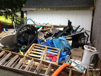 Junk Removal, Any Waste, 25$ and up   250 616 9494
