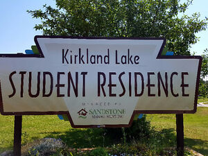 Rooms for rent in Student Residence (Kirkland Lake)