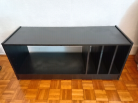 Black TV HiFi desk / stand / coffee table