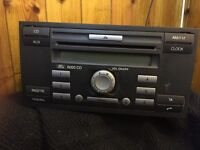 Ford Focus Fiesta Alhambra in car CD player no code