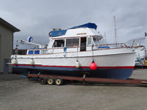 1970 36' Grand Banks trawler. Priced to sell!