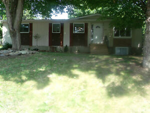 3 Bedrm+Full Basement on Lg Treed Lot Great Location avail soon