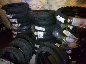 Motorcycle tires new