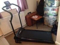 Confidence power plus motorised folding treadmill
