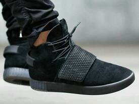Adidas Tubular Invaders - All Black - Size 9