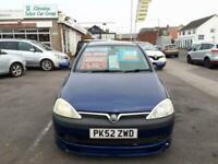 2002 Vauxhall Corsa 1.2i 16V SXi Easytronic Automatic 3-Door From £2,395 + Retai