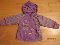 Waterproof jacket + pants - girl (2 years)