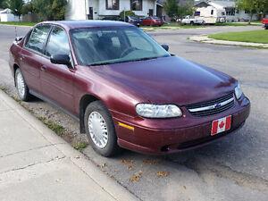 2001 Chevrolet Malibu - Only 78,500km!