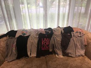 Vêtements filles 10-12 ans (pour filles 8-10 ans) 27 morceaux