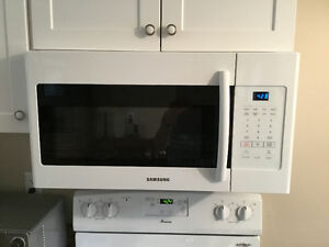 Stove, Frig & Microwave (over the Range)