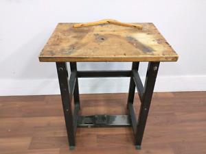 Table bois et métal