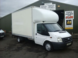 Ford Transit 2.4TDCi Duratorq ( 115PS ) 13 foot Luton/Boxvan with tail lift