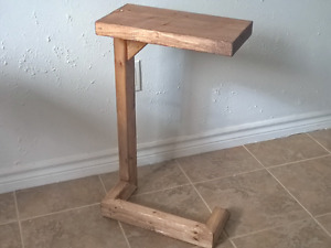 Pair of rustic side tables $50.00