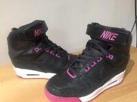 womens nike high heels trainers