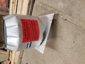 Woodstove attic insulation shield