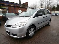 Mazda 5 1.8 TS 7 SEATER (1 OWNER + 11 MONTH MOT + LOW RATE FINANCE AVAILABLE) (silver) 2006