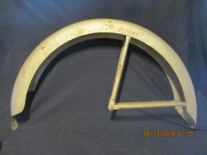 Antique Monark Bicycle Rear Fender