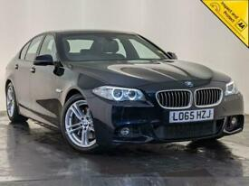 image for 2015 BMW 530D M SPORT AUTO LEATHER HEATED SEATS PARKING SENSORS SERVICE HISTORY