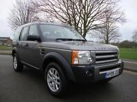 Land Rover Discovery 3 2.7TD V6 XS, 2009, 7 Seater High Spec, Stornoway Grey