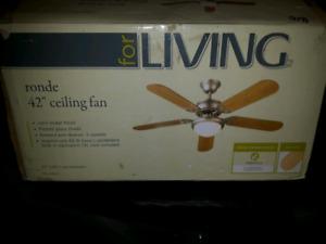"""42"""" ceiling fan"""