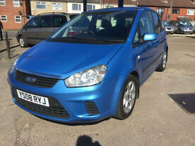 2008 Ford C-MAX 1.8TDCi Style diesel 73,000 miles full history, HPI Clear!!