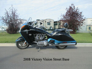 2008 Victory Vision Street Base - ONLY 28,000 KM!!