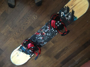 Board, Bindings, Boots, Jacket, Ski pants, Googles, and more