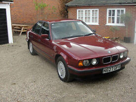 1995 BMW 525 2.5TD AUTO TDS - FULL HISTORY - FACTORY ORIGINAL - IN VGC -