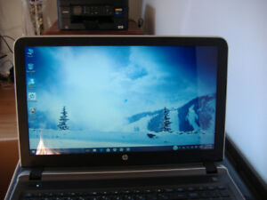 Quad core HP Pavilion 15-ab120ca (Touch Screen) Notebook