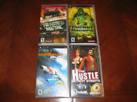 4 SONY PSP GAMES