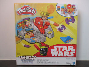 New PLAY-DOH Star Wars Millennium Falcon Can-Heads