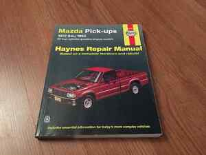 Haynes repair manual for Mazda b2200 trucks