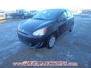 2015 MITSUBISHI MIRAGE ES 5D HATCHBACK AT 1.2L ES