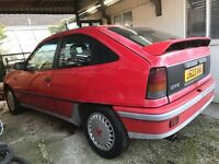 ASTRA GTE 2.0 8V RED 3DR SPARES REPAIRS, PROJECT, BARN FIND