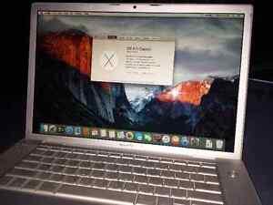 2008 Macbook Pro - 120 GB SSD mint condition