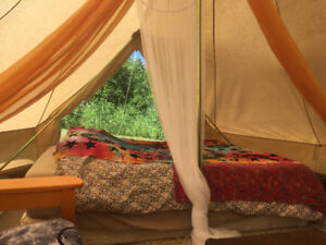 Off Grid Bell Tent Accommodation