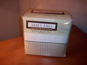 Abbey Hill Queen sheet set