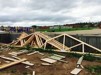 (23' roof trusses